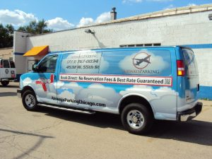 Airways Van Wrap & Graphics