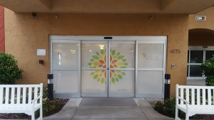 Perforated Vinyl Film for Doors and Windows