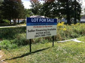 Real Estate Post & Panel Sign