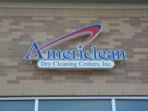 American Storefront Sign