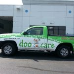 Doo Care Work Truck Wrap