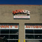 Sonny's Storefront Sign & Window Graphics