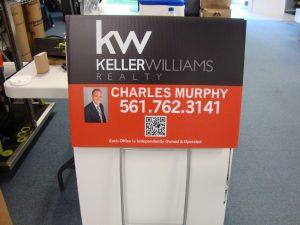 Keller Williams Custom Yard Sign